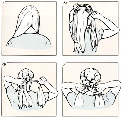 Часть 3 - Французские косы,